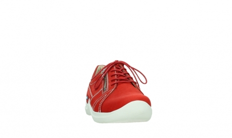 wolky lace up shoes 06609 feltwell 11570 red nubuck_6
