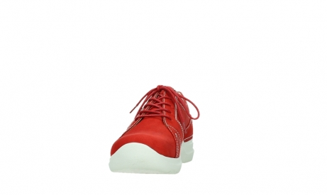wolky lace up shoes 06609 feltwell 11570 red nubuck_8