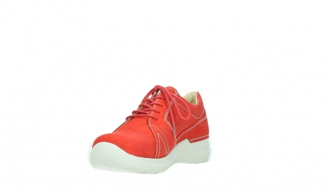 wolky lace up shoes 06609 feltwell 11570 red nubuck_9