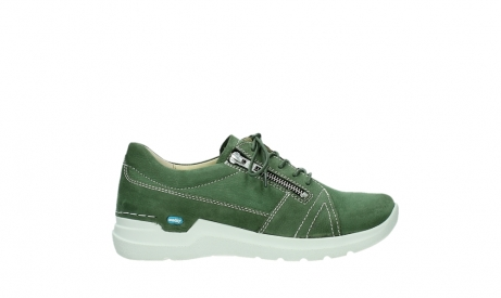 wolky lace up shoes 06609 feltwell 11720 moss green nubuck_1
