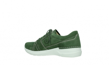 wolky lace up shoes 06609 feltwell 11720 moss green nubuck_15