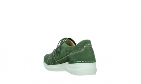 wolky lace up shoes 06609 feltwell 11720 moss green nubuck_17