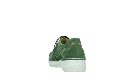 wolky lace up shoes 06609 feltwell 11720 moss green nubuck_18