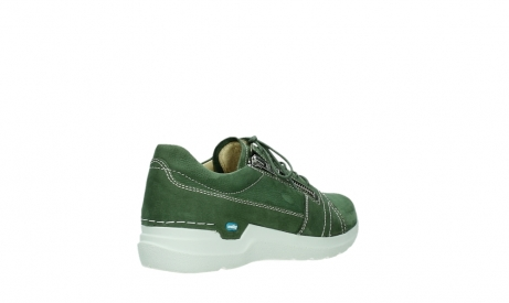 wolky lace up shoes 06609 feltwell 11720 moss green nubuck_22