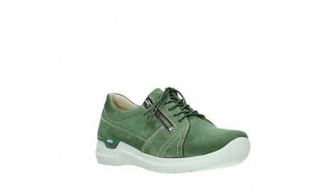 wolky lace up shoes 06609 feltwell 11720 moss green nubuck_4