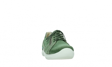 wolky lace up shoes 06609 feltwell 11720 moss green nubuck_6