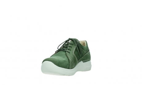 wolky lace up shoes 06609 feltwell 11720 moss green nubuck_9