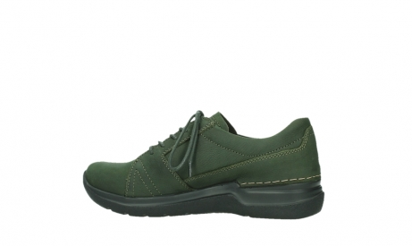 wolky lace up shoes 06609 feltwell 12735 forest green nubuck_14