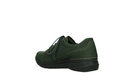 wolky lace up shoes 06609 feltwell 12735 forest green nubuck_16