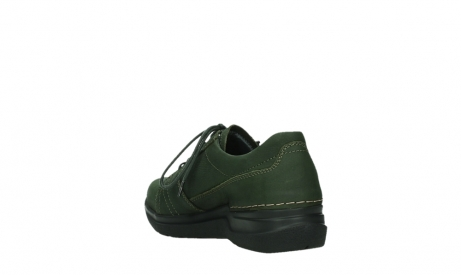 wolky lace up shoes 06609 feltwell 12735 forest green nubuck_17