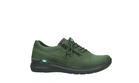 wolky lace up shoes 06609 feltwell 12735 forest green nubuck_2