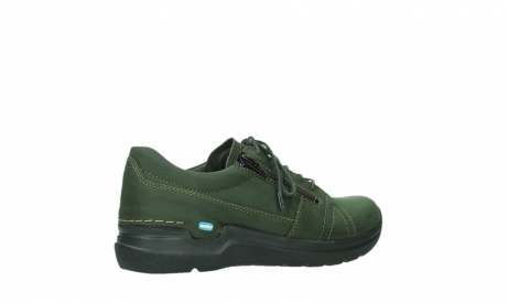 wolky lace up shoes 06609 feltwell 12735 forest green nubuck_23