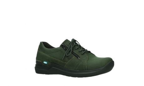 wolky lace up shoes 06609 feltwell 12735 forest green nubuck_3
