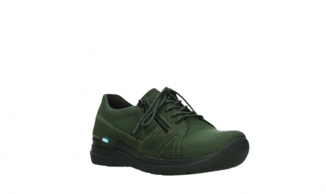 wolky lace up shoes 06609 feltwell 12735 forest green nubuck_4