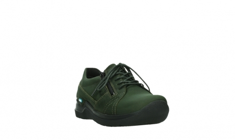 wolky lace up shoes 06609 feltwell 12735 forest green nubuck_5