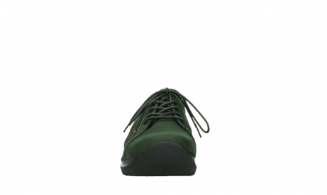 wolky lace up shoes 06609 feltwell 12735 forest green nubuck_7