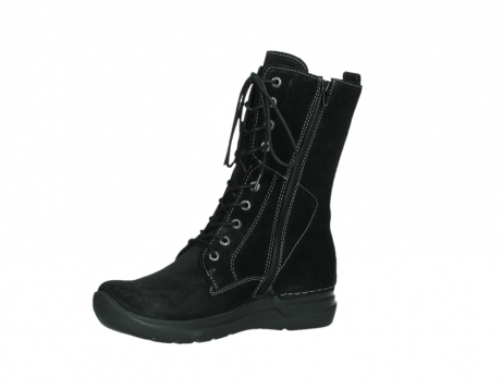 wolky lace up boots 06613 zigzag 45000 black suede_11
