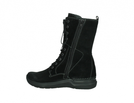 wolky lace up boots 06613 zigzag 45000 black suede_14