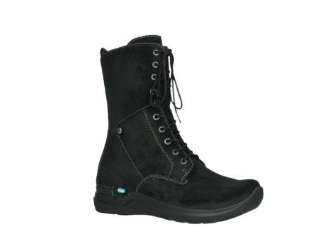wolky lace up boots 06613 zigzag 45000 black suede_3