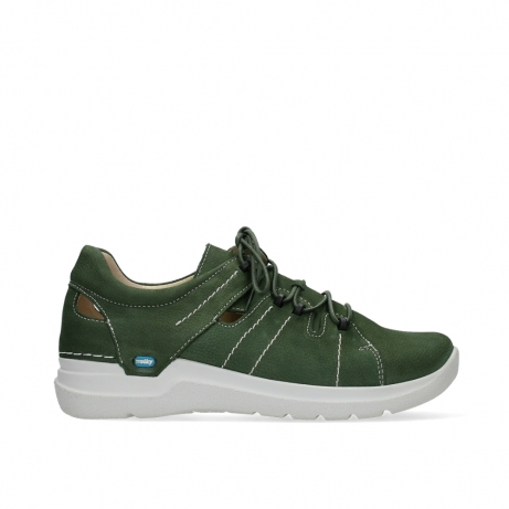 wolky lace up shoes 06615 bigfoot 11720 moss green nubuck