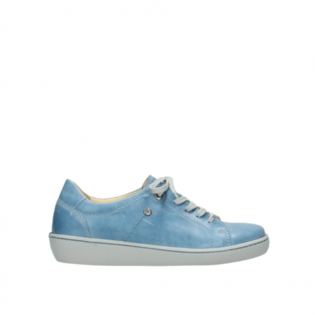 wolky lace up shoes 08128 gizeh 30820 denim blue leather