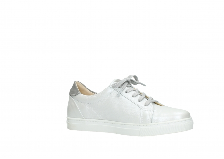 wolky lace up shoes 09440 perry 81100 white metallic leather_15
