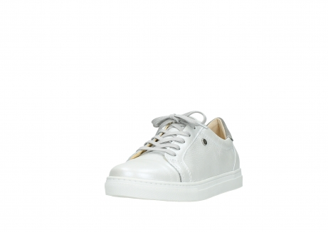 wolky lace up shoes 09440 perry 81100 white metallic leather_21