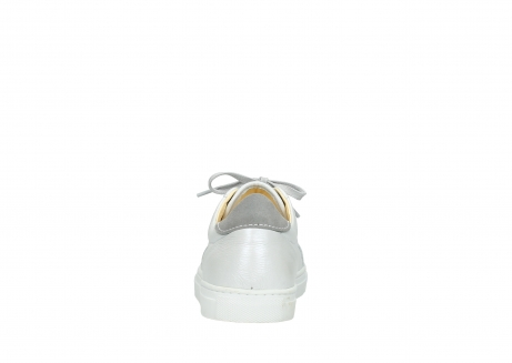 wolky lace up shoes 09440 perry 81100 white metallic leather_7
