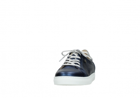 wolky lace up shoes 09440 perry 81800 blue leather_20