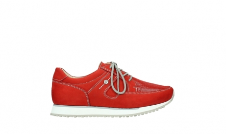 wolky walking shoes 05804 e walk 10570 red summer stretch nubuck_1
