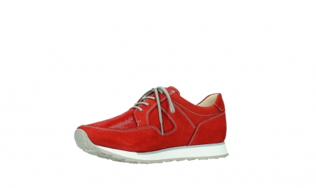 wolky walking shoes 05804 e walk 10570 red summer stretch nubuck_11