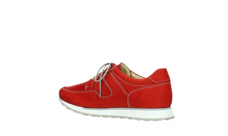 wolky walking shoes 05804 e walk 10570 red summer stretch nubuck_15