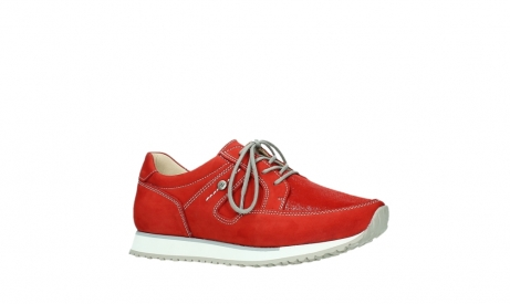 wolky walking shoes 05804 e walk 10570 red summer stretch nubuck_3
