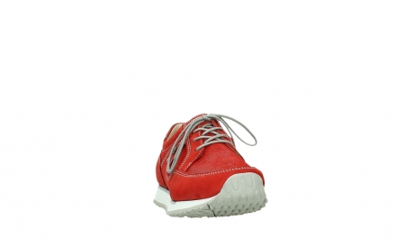 wolky walking shoes 05804 e walk 10570 red summer stretch nubuck_6