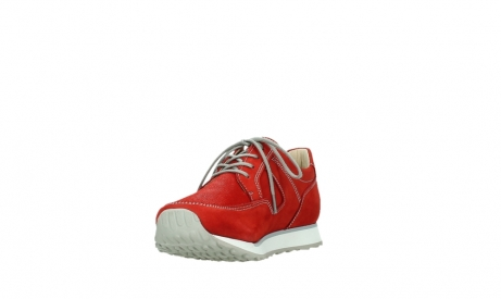 wolky walking shoes 05804 e walk 10570 red summer stretch nubuck_9