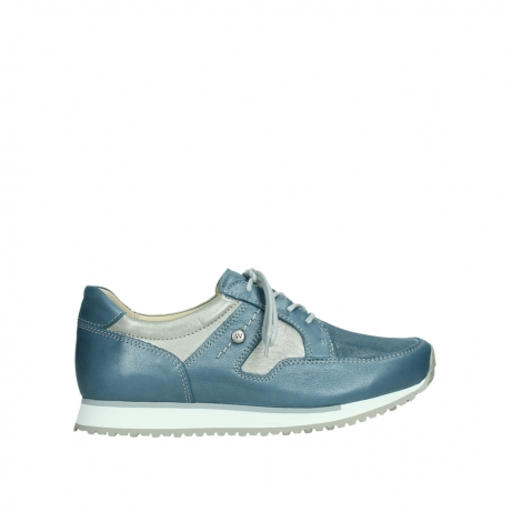 wolky walking shoes 05804 e walk 87860 steel blue pearl stretch leather