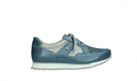 wolky walking shoes 05804 e walk 87860 steel blue pearl stretch leather_1