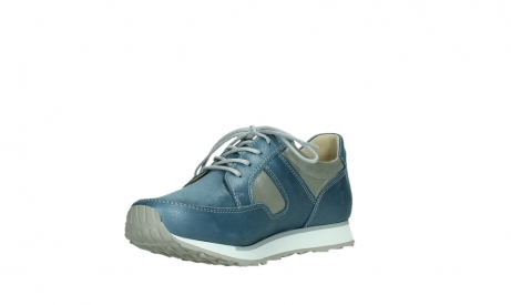 wolky walking shoes 05804 e walk 87860 steel blue pearl stretch leather_10