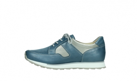wolky walking shoes 05804 e walk 87860 steel blue pearl stretch leather_13