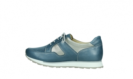 wolky walking shoes 05804 e walk 87860 steel blue pearl stretch leather_14