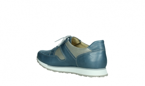 wolky walking shoes 05804 e walk 87860 steel blue pearl stretch leather_16