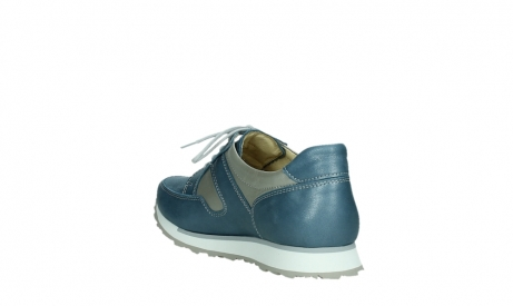 wolky walking shoes 05804 e walk 87860 steel blue pearl stretch leather_17