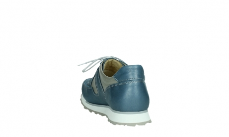 wolky walking shoes 05804 e walk 87860 steel blue pearl stretch leather_18
