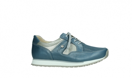wolky walking shoes 05804 e walk 87860 steel blue pearl stretch leather_2