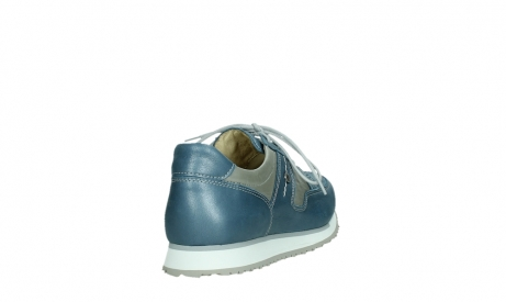 wolky walking shoes 05804 e walk 87860 steel blue pearl stretch leather_21