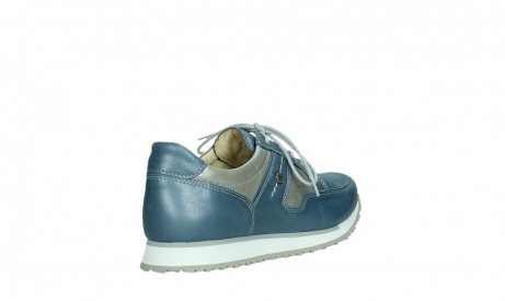 wolky walking shoes 05804 e walk 87860 steel blue pearl stretch leather_22