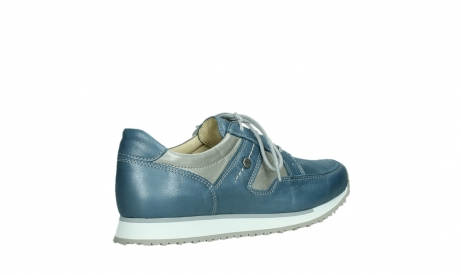 wolky walking shoes 05804 e walk 87860 steel blue pearl stretch leather_23