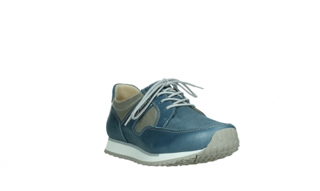wolky walking shoes 05804 e walk 87860 steel blue pearl stretch leather_5