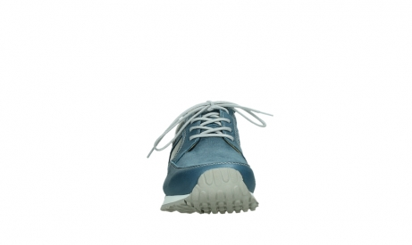 wolky walking shoes 05804 e walk 87860 steel blue pearl stretch leather_7