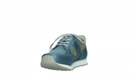 wolky walking shoes 05804 e walk 87860 steel blue pearl stretch leather_9